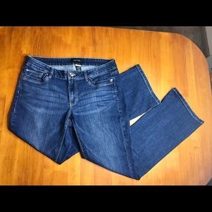 White House Black Market Contour Bootleg Jeans Sz8